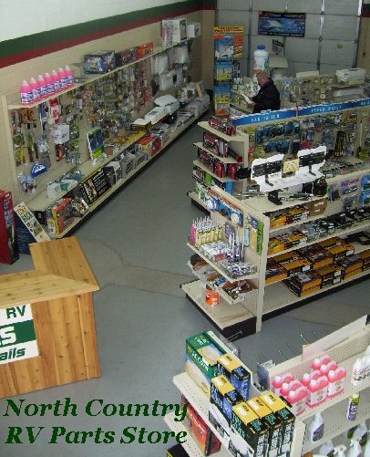 Parts Department | North Country RV | Ham Lake Minnesota